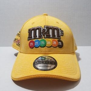 New Joe Gibbs New Era Nascar M&M Adjustable Hat